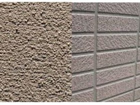 モルタル外壁とサイディング外壁0717