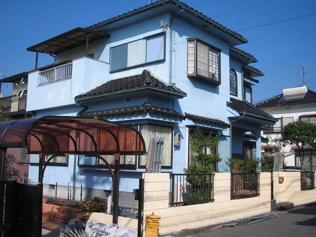 堺市外壁塗装Y様邸施工前写真