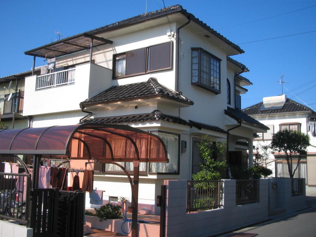堺市Y様邸外壁塗装施工前写真-09