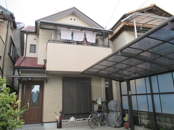 堺市日本ペイントS様邸塗装0723