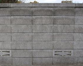 ブロック塀の塗装0717